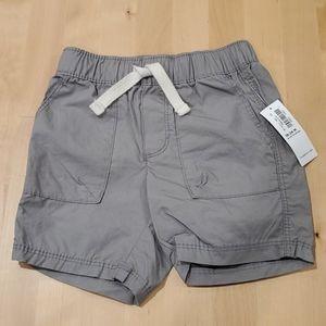 NWT Old Navy grey shorts, size 18-24 mos.